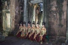 TEMPLO DEL KHMER DE TAILANDIA ISAN PHIMAI Imagenes de archivo
