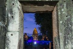 TEMPLO DEL KHMER DE TAILANDIA ISAN PHIMAI Foto de archivo libre de regalías