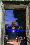 TEMPLO DEL KHMER DE TAILANDIA ISAN PHIMAI Foto de archivo