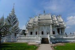 Templo del khun del rong de Wat en ChiangRai, Tailandia fotografía de archivo libre de regalías