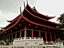 Templo del kong del poo de Sam Imágenes de archivo libres de regalías