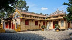 Templo del Le Van Duyet, lugar de la adoración de la historia Fotos de archivo