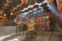 Templo del MES del hombre en Hong-Kong Imagen de archivo libre de regalías