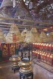 Templo del MES del hombre en Hong-Kong fotos de archivo