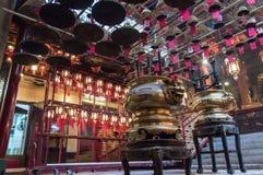 Templo del MES del hombre, Hong-Kong Fotos de archivo