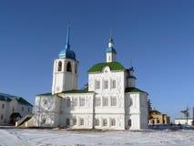 Templo del monasterio de Selenginsky fotos de archivo