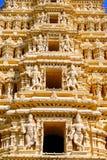 Templo del Mysore-Palacio Foto de archivo libre de regalías