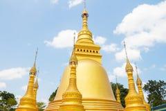 Templo del oro Imágenes de archivo libres de regalías