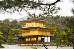 Templo del oro Fotos de archivo libres de regalías