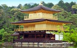 Templo del pabellón de oro Foto de archivo libre de regalías