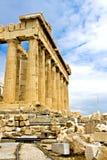 Templo del Parthenon Fotos de archivo
