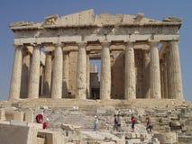 Templo del Parthenon Imagenes de archivo