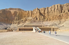 templo del pharaoh Foto de archivo libre de regalías