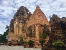 Templo del Po Nagar Imagen de archivo