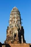Templo del radburana de Wat en el ayutthaya, Tailandia. Fotografía de archivo