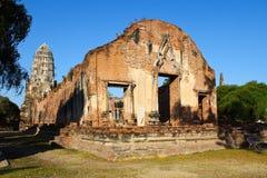 Templo del radburana de Wat en el ayutthaya, Tailandia Imágenes de archivo libres de regalías