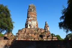 Templo del radburana de Wat en el ayutthaya, Tailandia Foto de archivo libre de regalías