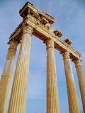 Templo del ` s de Appolo imagen de archivo