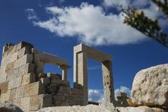 Templo del ` s de Dimitra fotografía de archivo