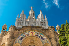 Templo del Sagrado Corazn DE Jesus Stock Afbeelding