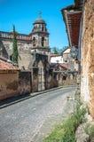 Templo del Sagrario dans Patzcuaro, Michoacan, Mexique photos libres de droits