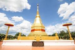 Templo del sala del montol del jao de Thar de la barbilla de Phra Maha, Lamphun Tailandia Fotografía de archivo libre de regalías