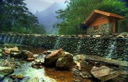 Templo del Shan de Wudang foto de archivo libre de regalías