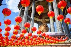 Templo del si del kok de Lok Templo chino Penang Malasia Foto de archivo libre de regalías