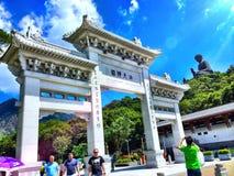 Templo del silbido de bala de Nong Fotografía de archivo libre de regalías