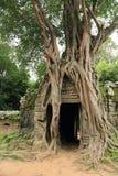 Templo del som de TA en Angkor Imagen de archivo libre de regalías