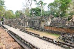Templo del som de TA en Angkor, Camboya Foto de archivo