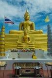 Templo del statueThai de Buda Fotografía de archivo libre de regalías