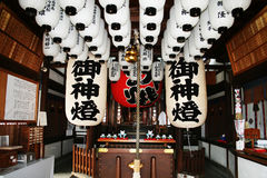 Templo del taisha de Sumiyoshi foto de archivo