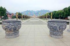 Templo del Taoist Fotos de archivo