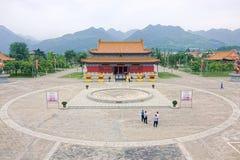 Templo del Taoist Imagen de archivo