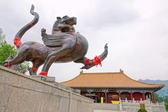 Templo del Taoist Imagenes de archivo