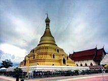 Templo del tard de Pha Fotos de archivo