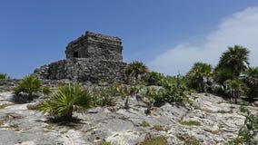 Templo del Viento , Tulum , Mexico Royalty Free Stock Images
