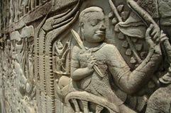 Templo del wat del ankor Imagen de archivo