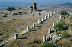 Templo del Zeus, Pergamon Imagen de archivo libre de regalías