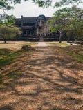 Templo dentro del Angkor Wat Complex Imagenes de archivo