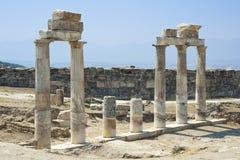 Templo destruido Foto de archivo libre de regalías