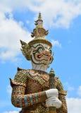 Templo dianteiro gigante Imagens de Stock