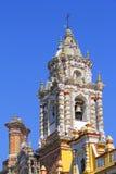 Templo do acatepec XIV de San Francisco Fotografia de Stock