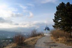 Templo do ar da montanha. Kislovodsk. Rússia foto de stock royalty free