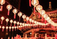 Templo do bairro chinês Fotos de Stock Royalty Free