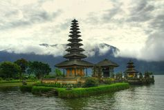 Templo do Balinese imagem de stock