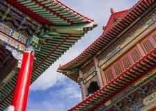 Templo do beirado, templo chinês Imagem de Stock