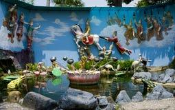 Templo do birmanês de Dharmikarama Imagens de Stock Royalty Free