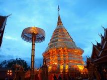 Templo do budismo no norte de Tailândia Imagens de Stock